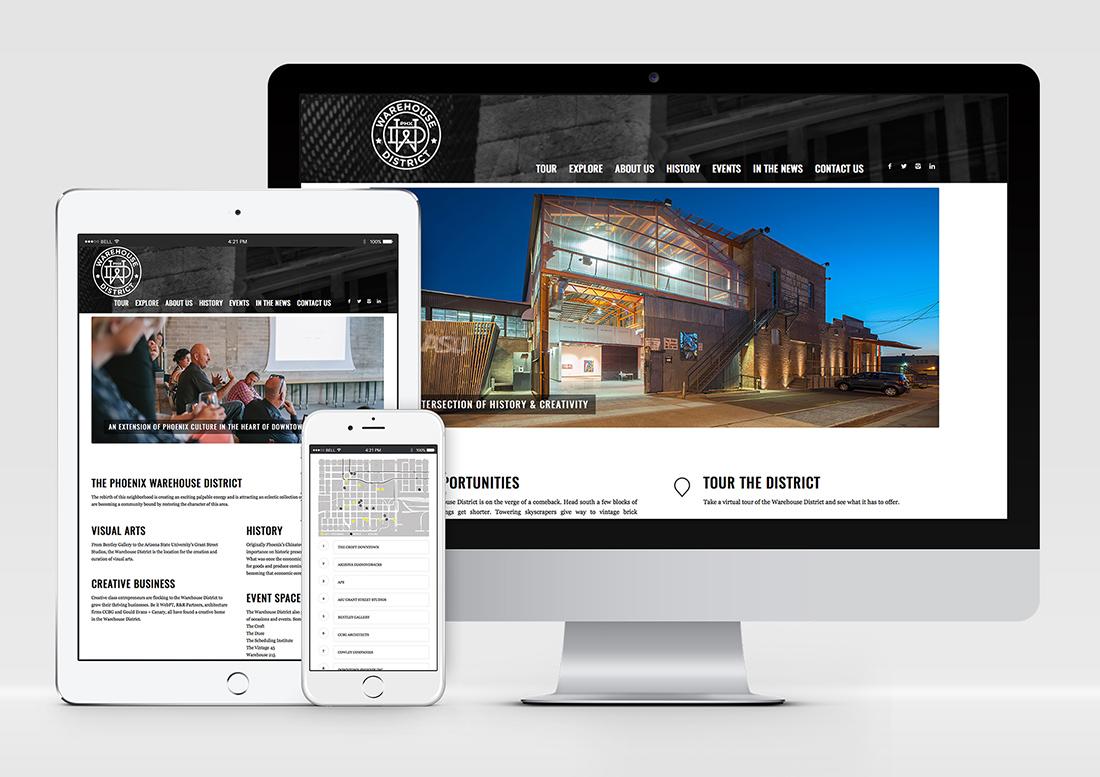 website design phoenix, phoenix warehouse district, branding, marketing phoenix, design phoenix, graphics