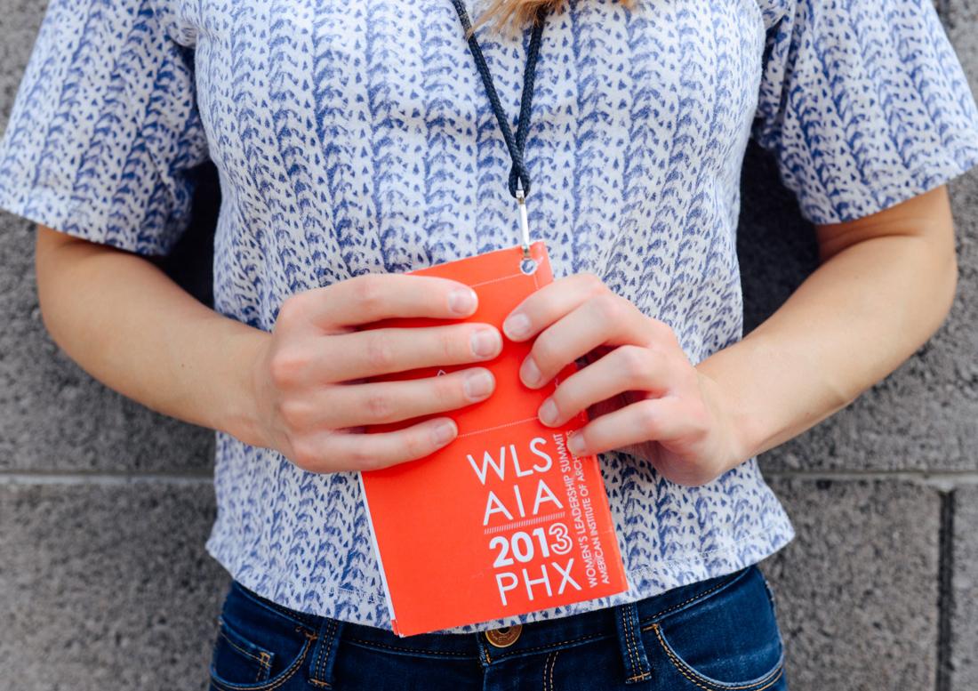 graphic design, design phoenix, AIA phoenix, AIA Conference Phoenix, brochure design, AIA WLS, AIA women's leadership conference